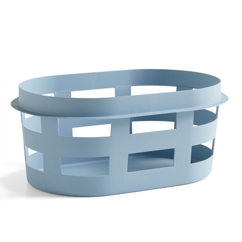 Hay Laundry Basket Soft Blue Small